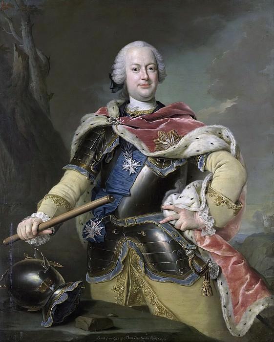 Boy, Gottfried -- Friedrich Christian (1722-63), keurvorst van Saksen, koning van Polen, 1751. Rijksmuseum: part 2