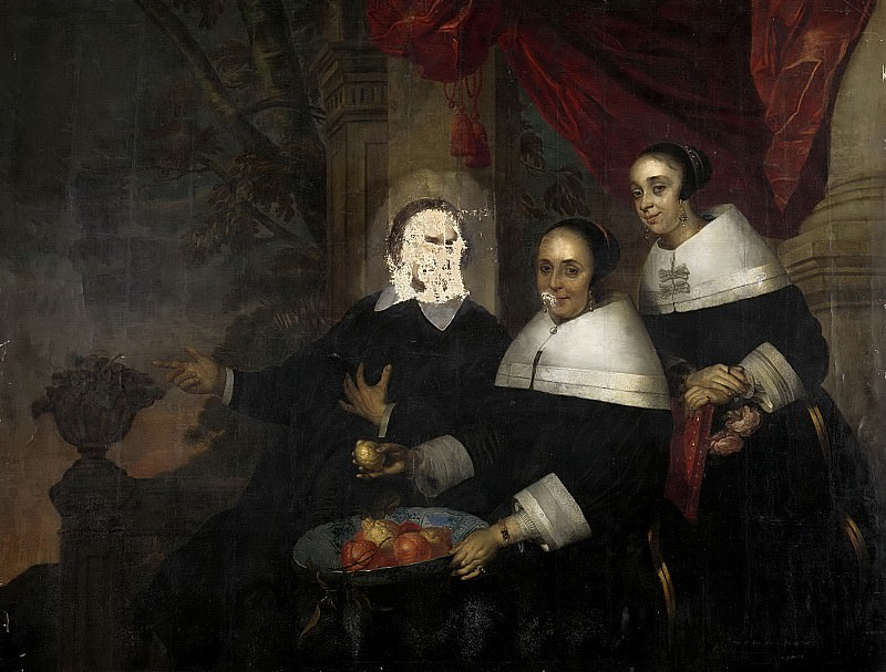 Merck, Jacob Fransz. van der -- Familieportret, 1650-1659. Rijksmuseum: part 2