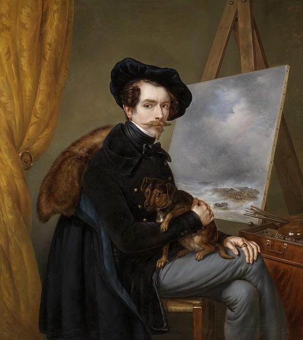 Meijer, Louis -- Zelfportret, 1838. Rijksmuseum: part 2