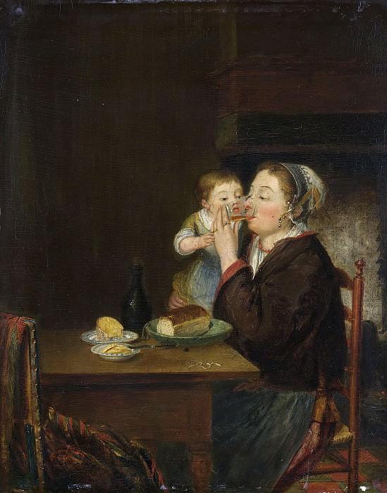 Coclers, Louis Bernard -- Een moeder met haar kind, 1794. Rijksmuseum: part 2