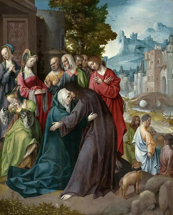 Engebrechtsz., Cornelis -- Christus neemt afscheid van Maria, 1515-1520. Rijksmuseum: part 2