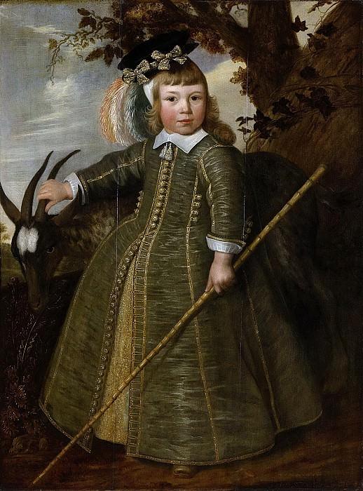 Rotius, Jan Albertsz. -- Portret van een jongetje met een bok, 1652. Rijksmuseum: part 2
