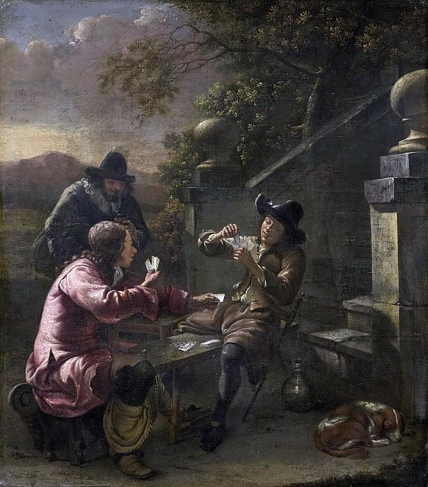 Natus, Johannes -- De kaartspelers, 1660. Rijksmuseum: part 2