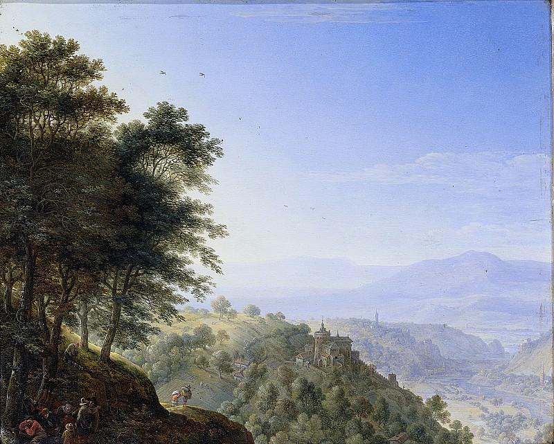 Saftleven, Herman -- Berglandschap bij Boppard aan de Rijn, 1660. Rijksmuseum: part 2