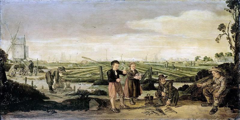 Арент Арентс -- Рыбаки и крестьяне, 1625-1631. Рейксмузеум: часть 2