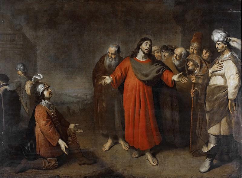 Camerarius, Adam -- Christus en de hoofdman over honderd, 1644-1665. Rijksmuseum: part 2