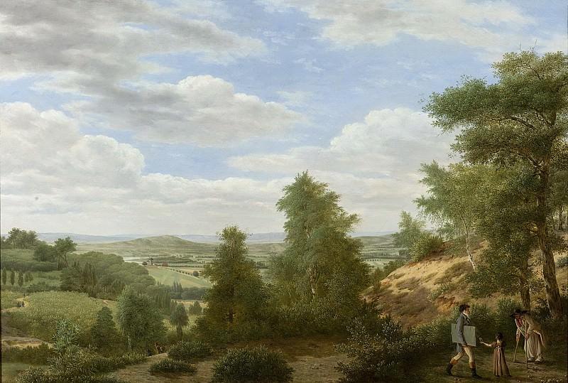 Питер Рудольф Клейн -- Вид на равнину Монморанси близ Сен-Лё, 1808. Рейксмузеум: часть 2