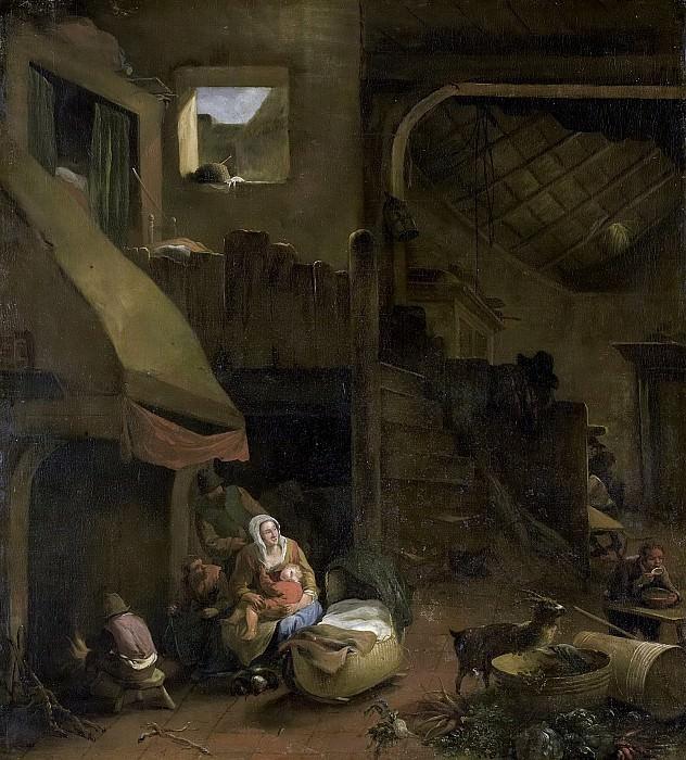 Mommers, Hendrick -- Boereninterieur, 1650-1693. Rijksmuseum: part 2