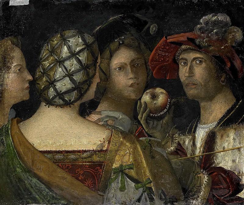 Антонио да Вендри -- Суд Париса, 1500-1524. Рейксмузеум: часть 2