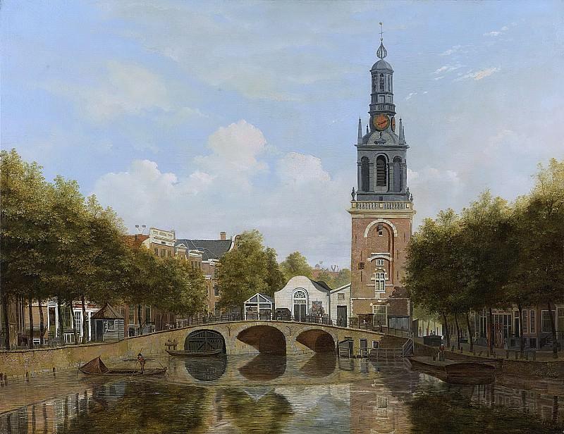 Cate, Hendrik Gerrit ten -- De Torensluis met de Jan Roodenpoortstoren te Amsterdam, 1829. Rijksmuseum: part 2
