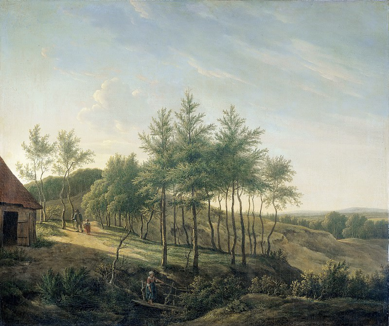 Michaëlis, Gerrit Jan -- Heuvelachtig landschap, 1814. Rijksmuseum: part 2