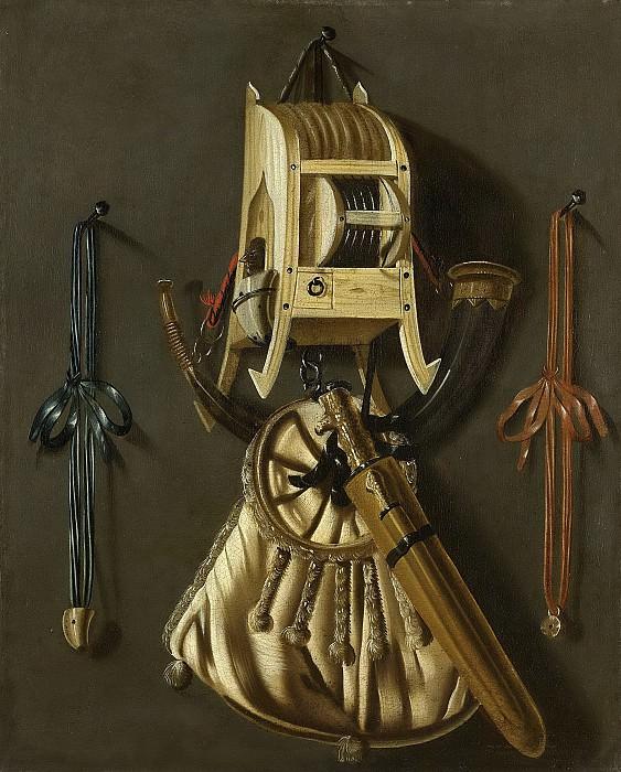 Leemans, Johannes -- Stilleven met jachtgerei, 1670-1686. Rijksmuseum: part 2