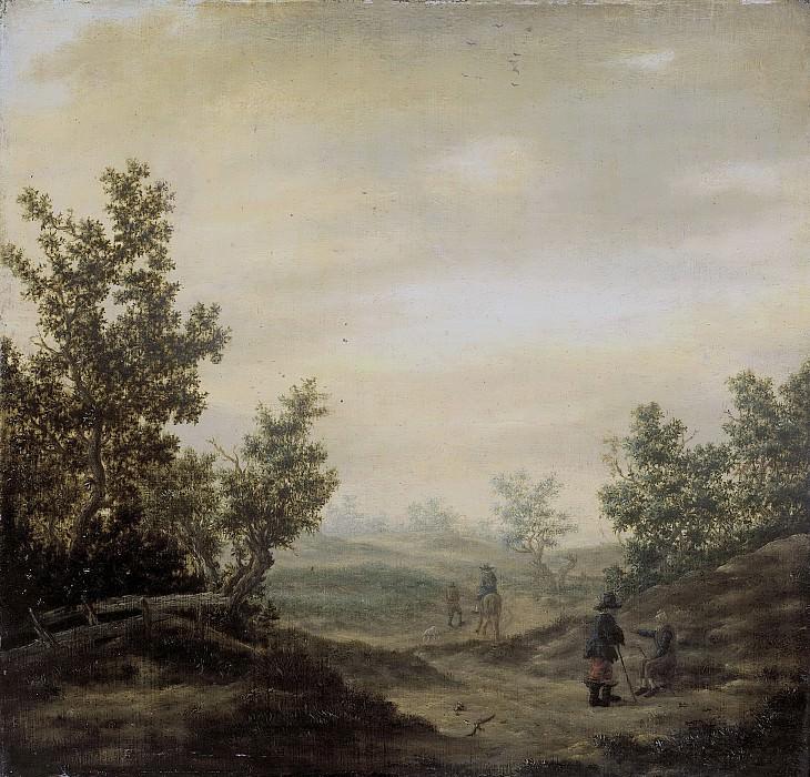 Клас ван Берестейн -- Дорога в дюнах, 1629-1684. Рейксмузеум: часть 2