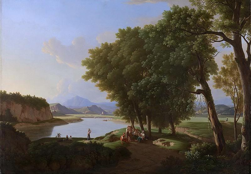 Kleijn, Pieter Rudolph -- De Aqua Cetosa bij Rome, 1810. Rijksmuseum: part 2