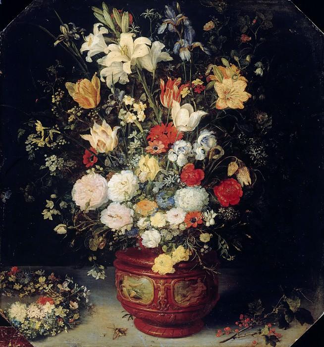Bouquet of flowers. Jan Brueghel The Elder