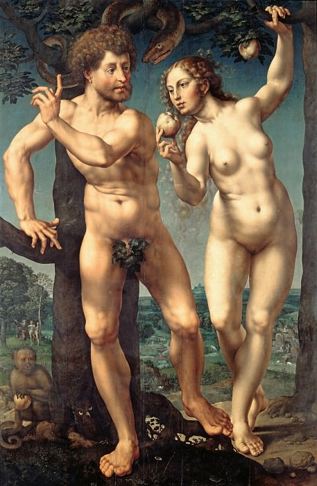Госсарт, Ян (ок1480-1530е) - Грехопадение. Часть 3