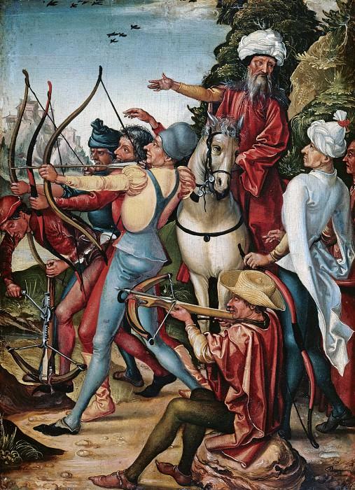 Мастер диптиха св Себастьяна - Мученичество св Себастьяна. Часть 3