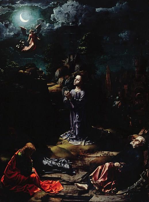 Госсарт, Ян (ок1480-1530е) - Моление о Чаше. Часть 3