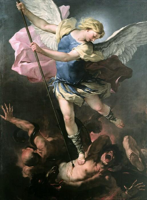 Luca Giordano (1634-1705) - St. Michael. Part 3
