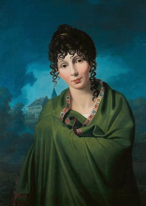 Friedrich Bury (1763-1823) - Countess Luise von Voss. Part 3
