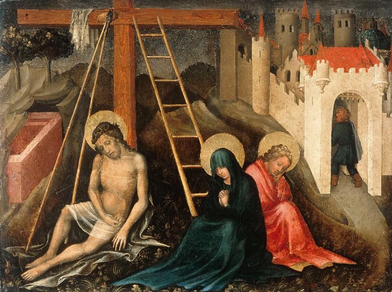 Мастер Введения во Храм - Скорбящий Христос с Девой Марией и Иоанном у креста. Часть 3