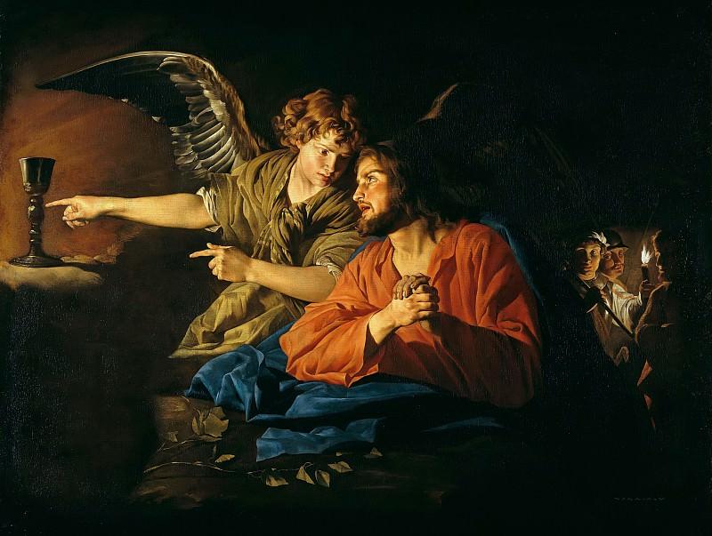 Matthias Stom (c.1600-c.1652) - Christ on the Mount of Olives. Part 3