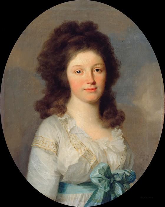 Johann Friedrich August Tischbein (1750-1812) - Henriette Countess of Egloffstein. Part 3