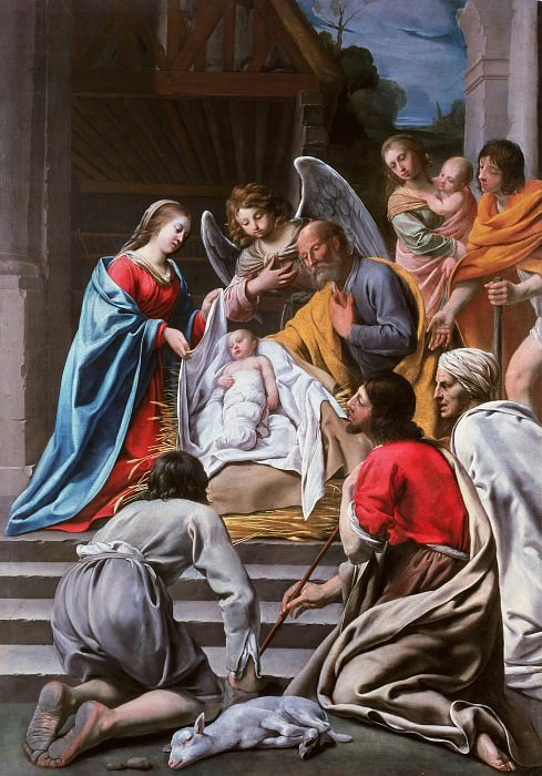 Maitre des corteges - The Adoration of the Shepherds. Part 3