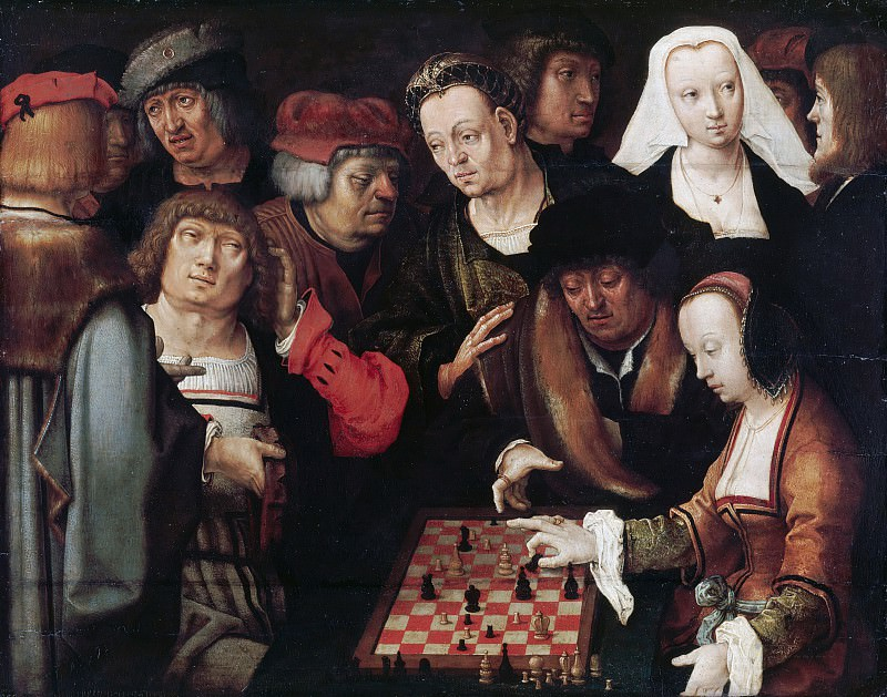 Lucas van Leyden (1494-1533) - Game of Chess. Part 3