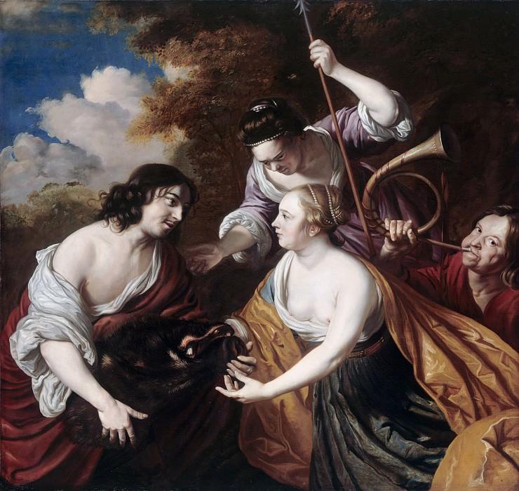 Jan de Bray (1626- 27-1697) - Meleager and Atalanta. Part 3