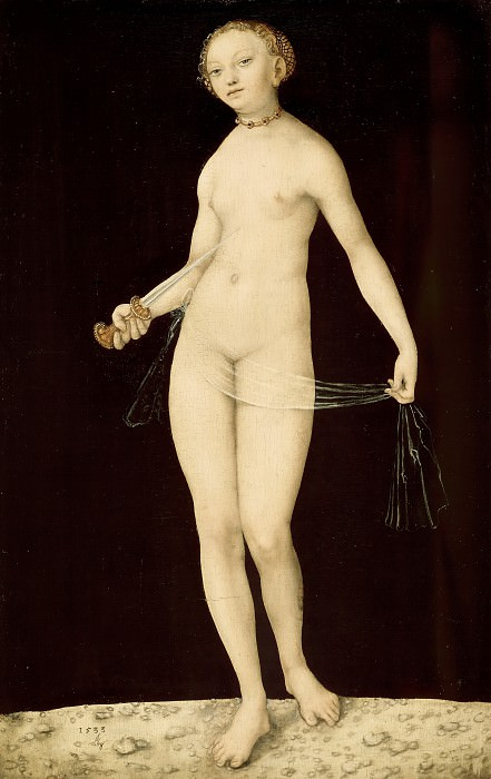 Lucas Cranach I (1472-1553) - Lucretia. Part 3