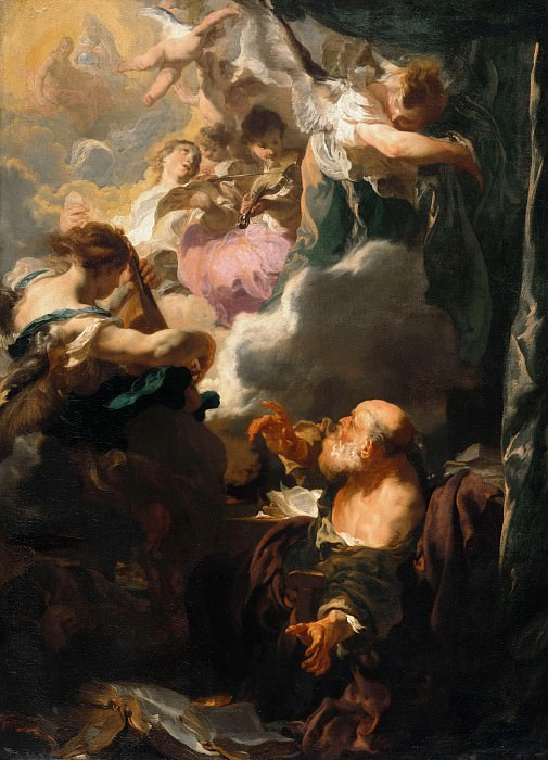 Johann Liss (c.1597-1629-30) - Ecstasy of Saint Paul. Part 3