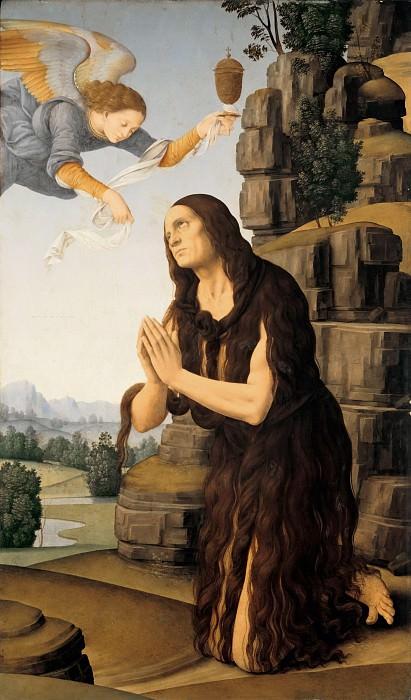 Lorenzo di Credi (1459-1537) - St. Mary of Egypt. Part 3