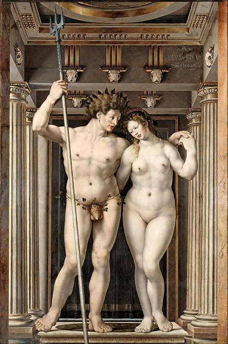 Госсарт, Ян (ок1480-1530е) - Нептун и Амфитрита. Часть 3