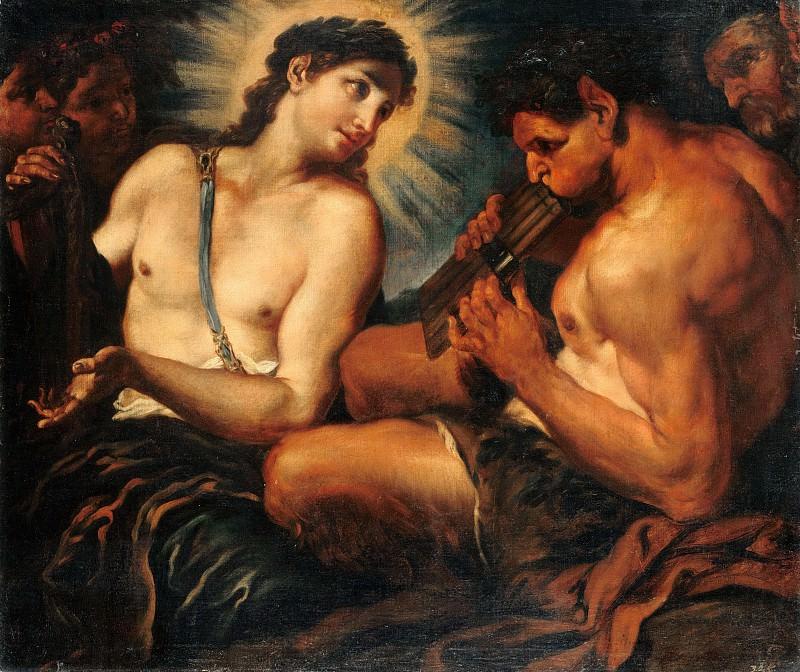 Johann Carl Loth (1632-1698) - Musical contest between Apollo and Marsyas. Part 3