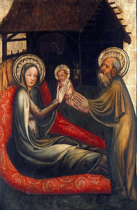 Magdeburg Master - Winged altar - Nativity. Part 3
