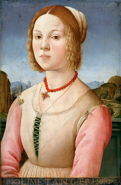 Master of Santo Spirito - Portrait of a young woman. Part 3
