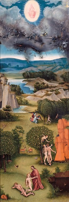 Кранах, Лукас I (1472-1553) - Страшный суд (триптих). Часть 3