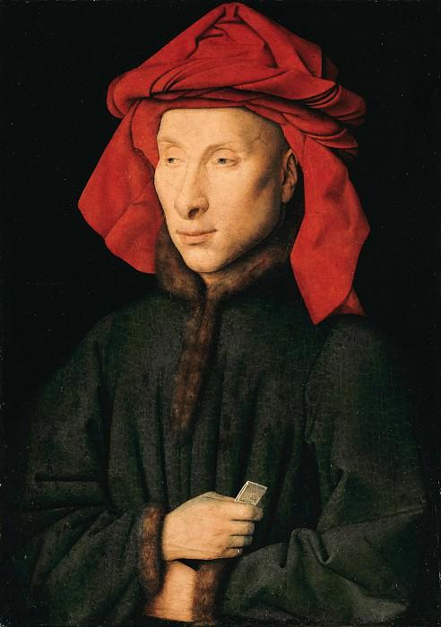 Giovanni Arnolfini. Jan van Eyck