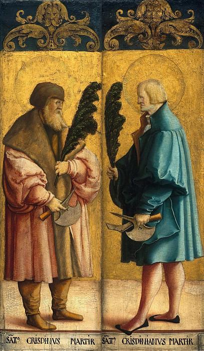 Мастер из Месскирха (ок1500-ок1572) - Святые Криспин и Криспиниан. Часть 3
