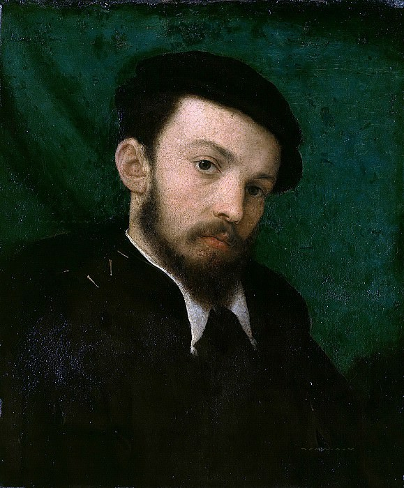 Lorenzo Lotto (c.1480-1557) - Portrait of a young man. Part 3