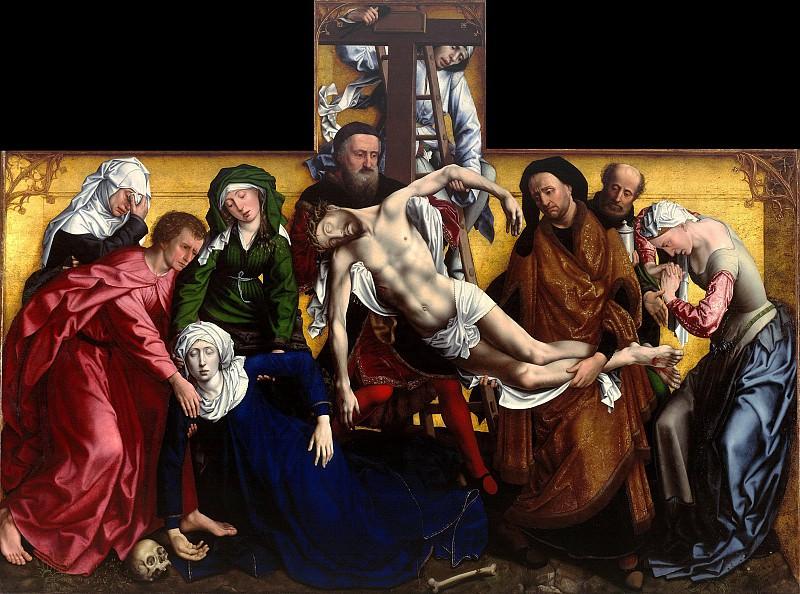 Michiel Coxie (c.1497-1592) after Rogier van der Weyden - The Descent from the Cross. Part 3