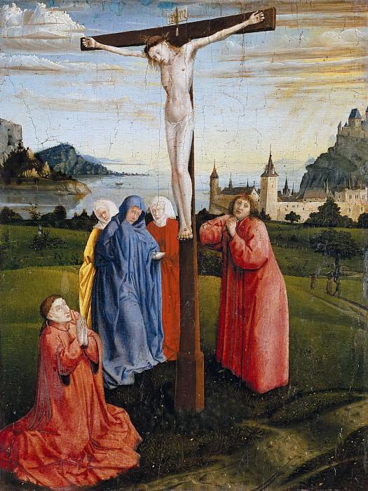 Konrad Witz (c.1400-c.1445) - Christ on the Cross. Part 3
