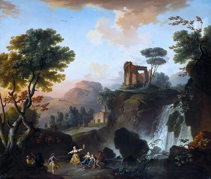 Charles Francois Grenier de Lacroix (1700 -1782) - Views of Tivoli. Part 3