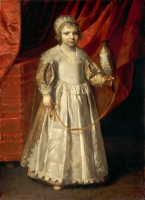 Attributed to Philippe de Champaigne -- Child with Falcon. Part 2 Louvre