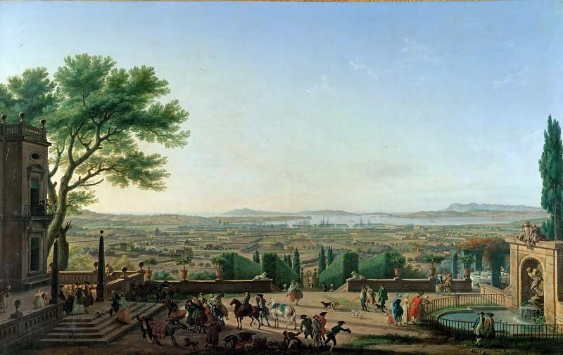 Claude-Joseph Vernet -- City and Port of Toulon. Part 2 Louvre