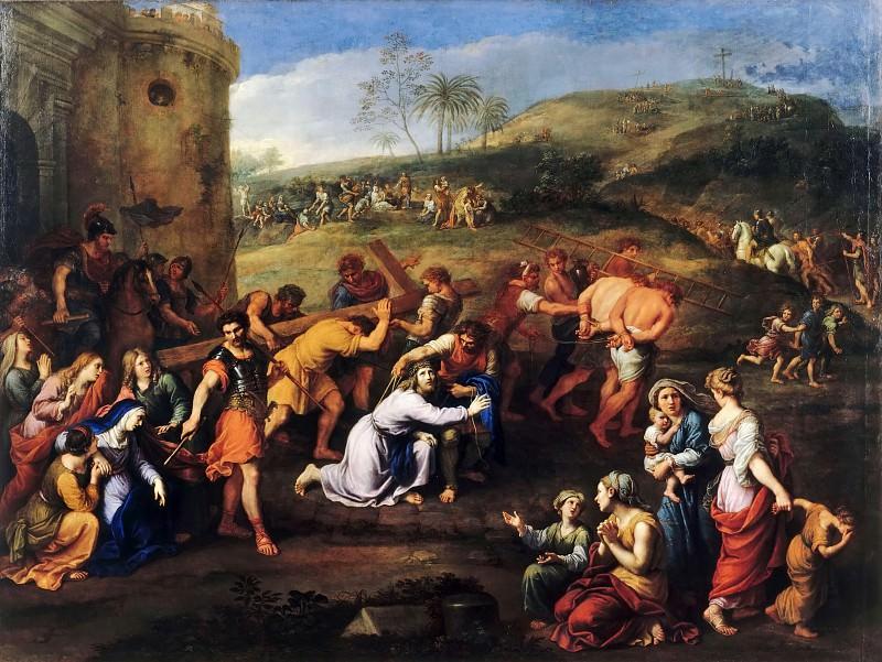 Pierre Mignard I -- Jesus on the way to Calvary. Part 2 Louvre