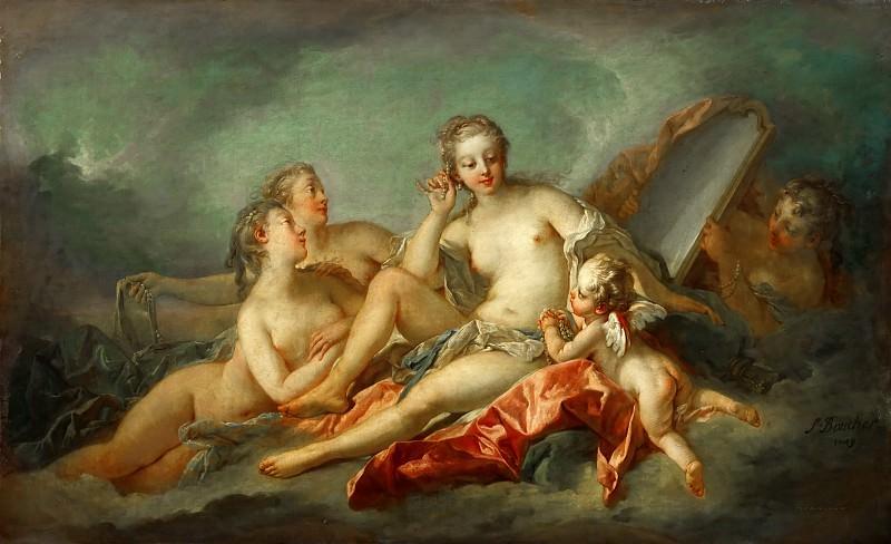 La toilette de Venus. Francois Boucher