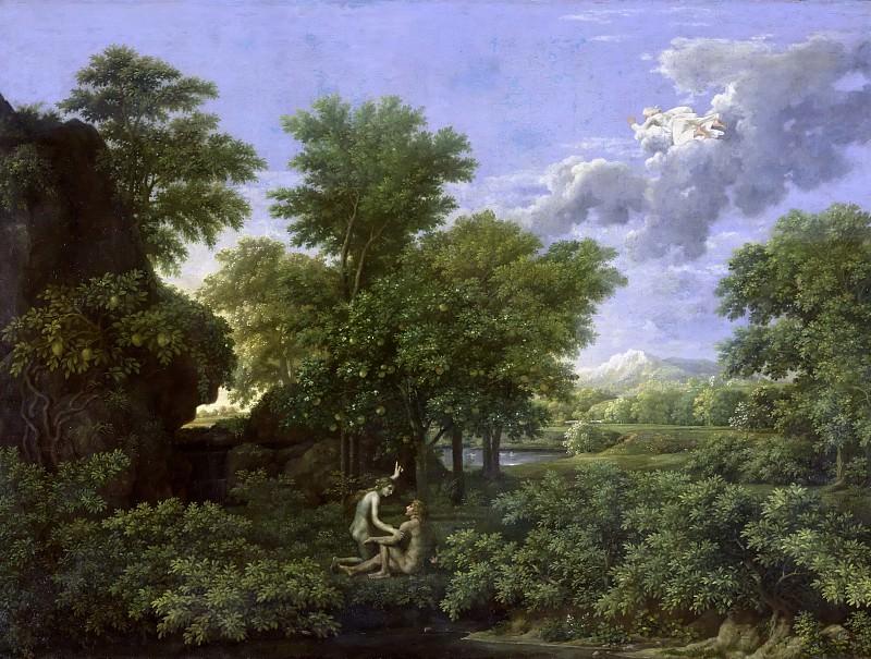 Пуссен, Никола (1594 лез-Андели - 1665 Рим) -- Четыре сезона - Весна. Part 2 Louvre
