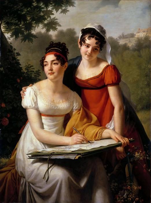 Пажу, Жак-Огюстен (Париж 1766-1828) -- Мадмуазели Дюваль. часть 2 Лувр